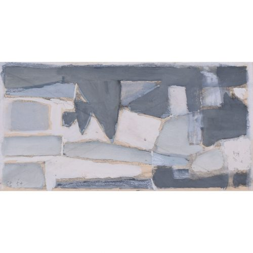 Clifford Ellis Abstract in Grey II