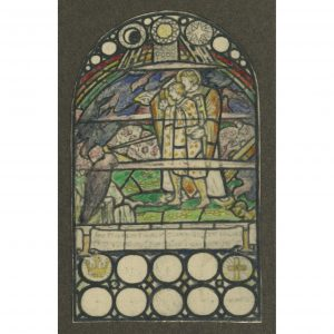 Florence Camm Stained Glass Window Design