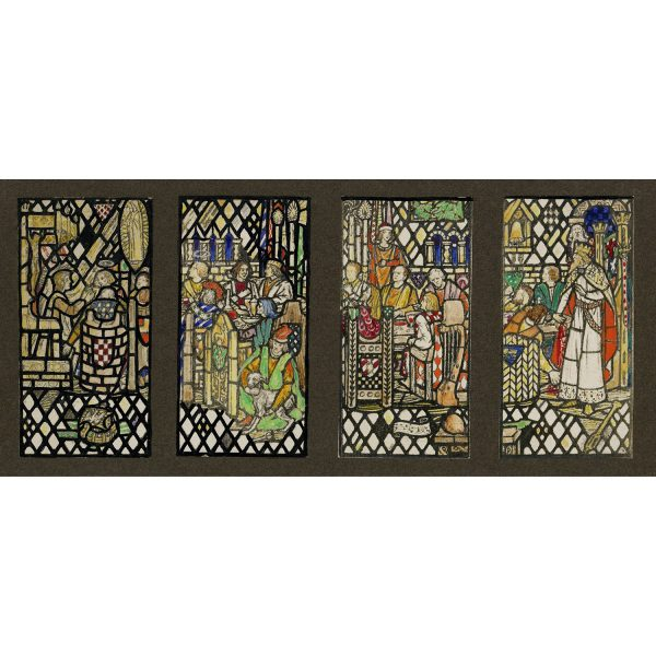 Florence Camm Series of Four Stained Glass Windows
