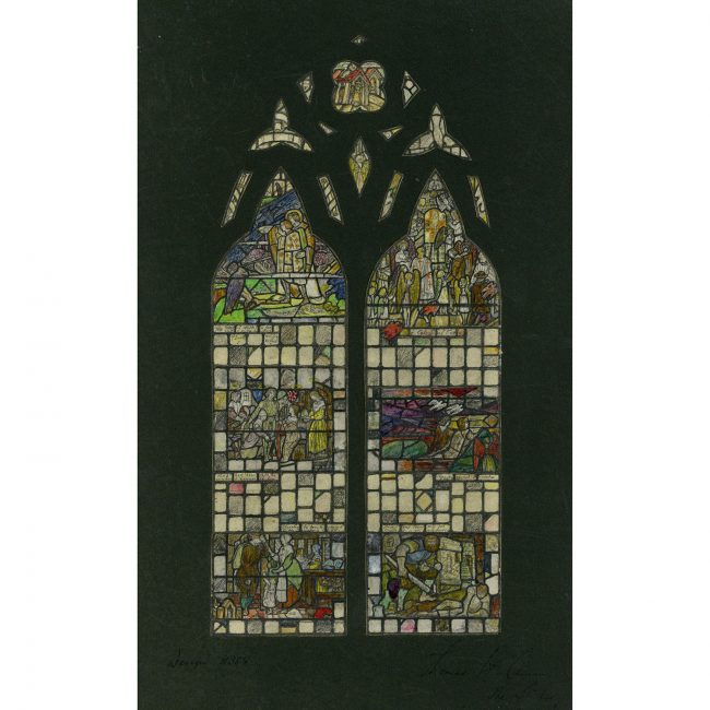 Florence Camm Stained Glass Window Design III