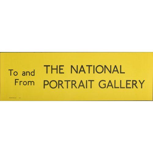 National Gallery Bus Blind