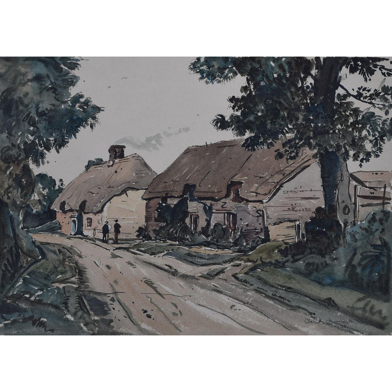 Claude Muncaster Dorset cottage