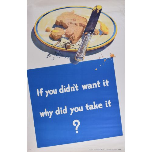 If you didn't want it... original vintage poster