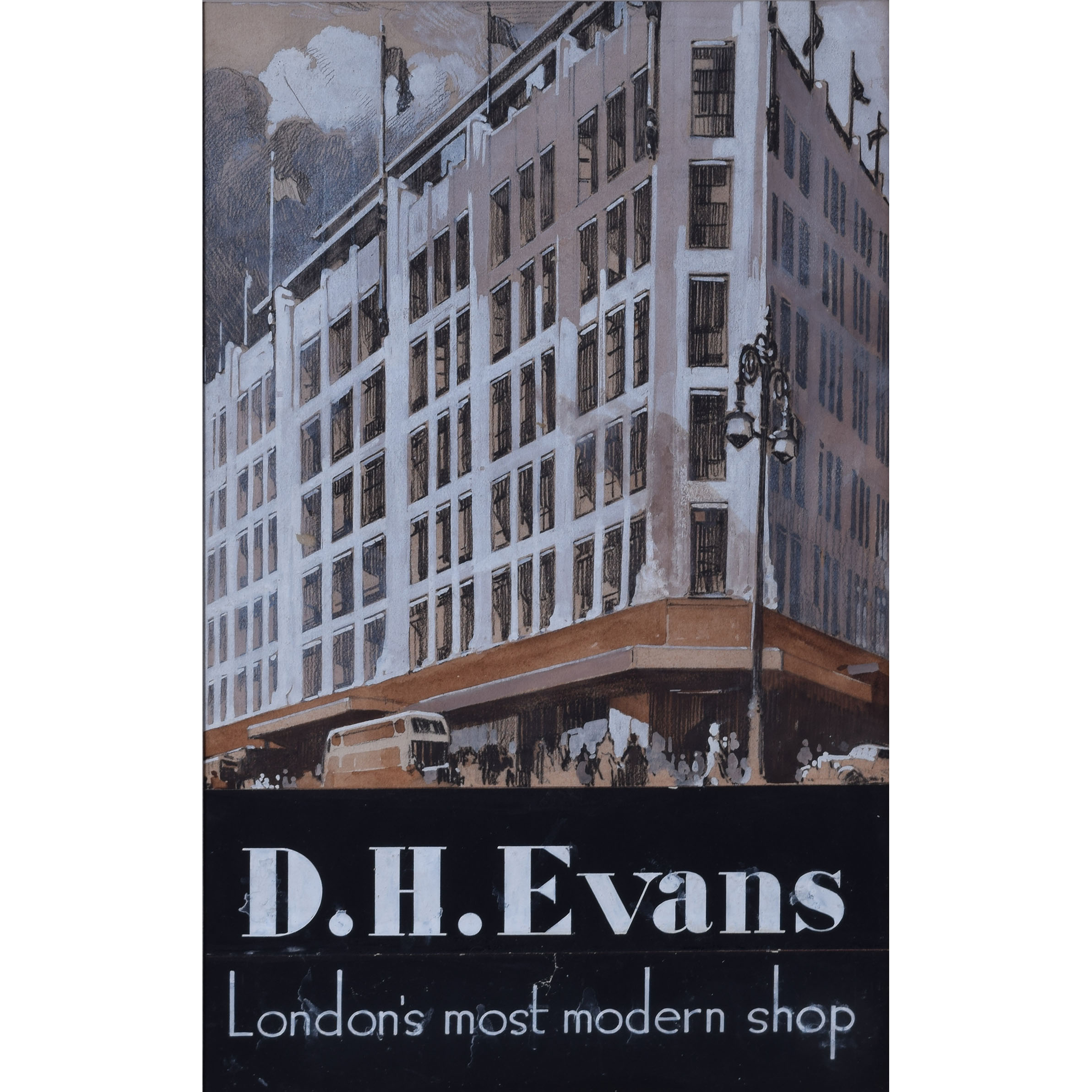 DH Evans Original Design for Advertising