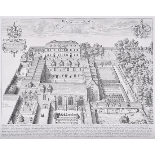David Loggan Trinity College Oxford engraving 1675