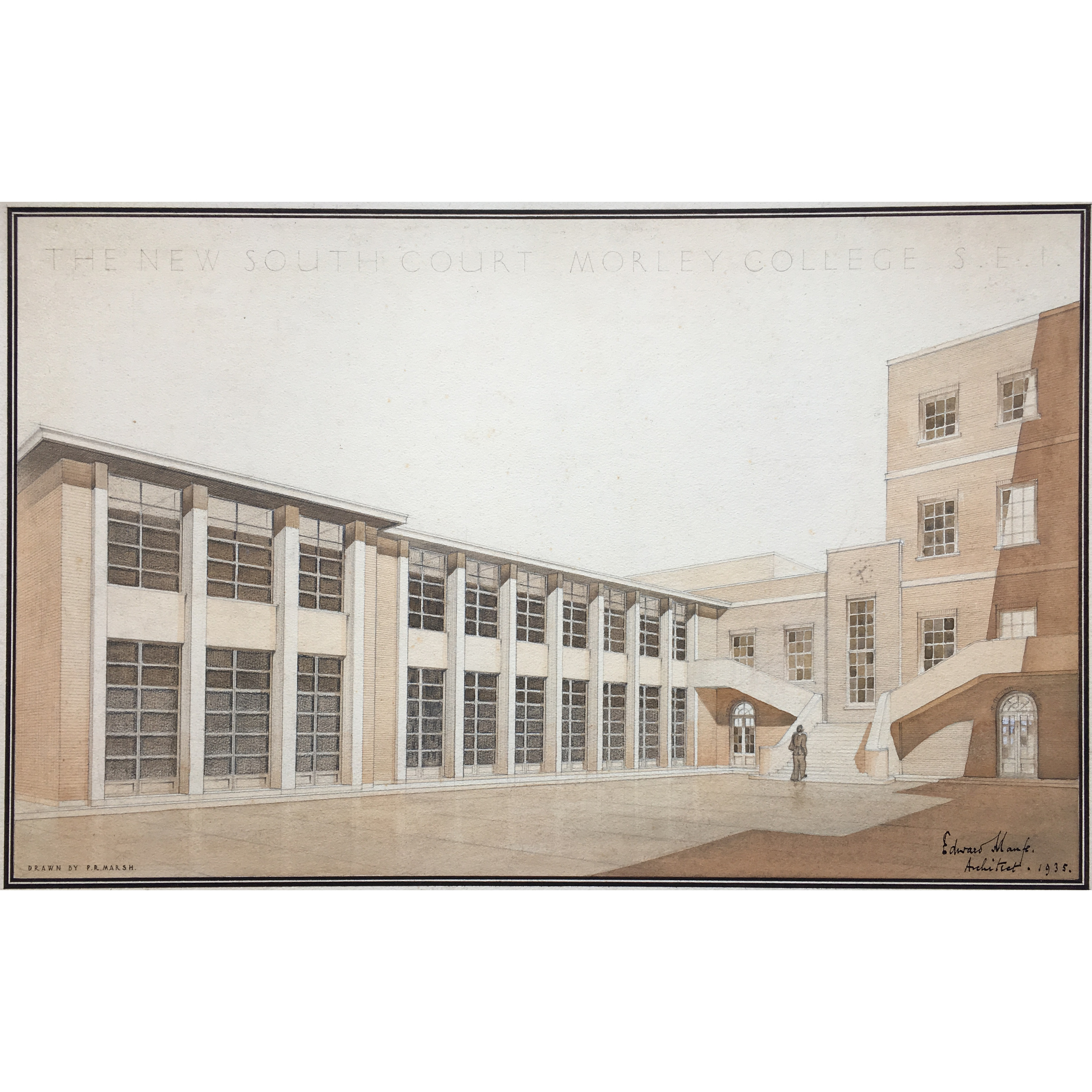 Sir Edward Maufe Design for Morley College