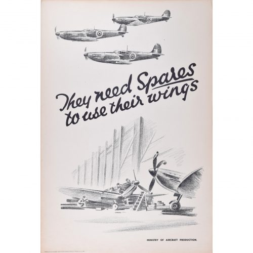 Owen Miller They need Spares to use their Wings Spitfire original poster