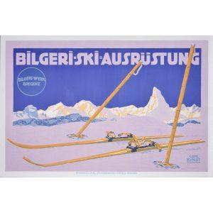 Carl Kunst Bilgeri Ski Ausrustung