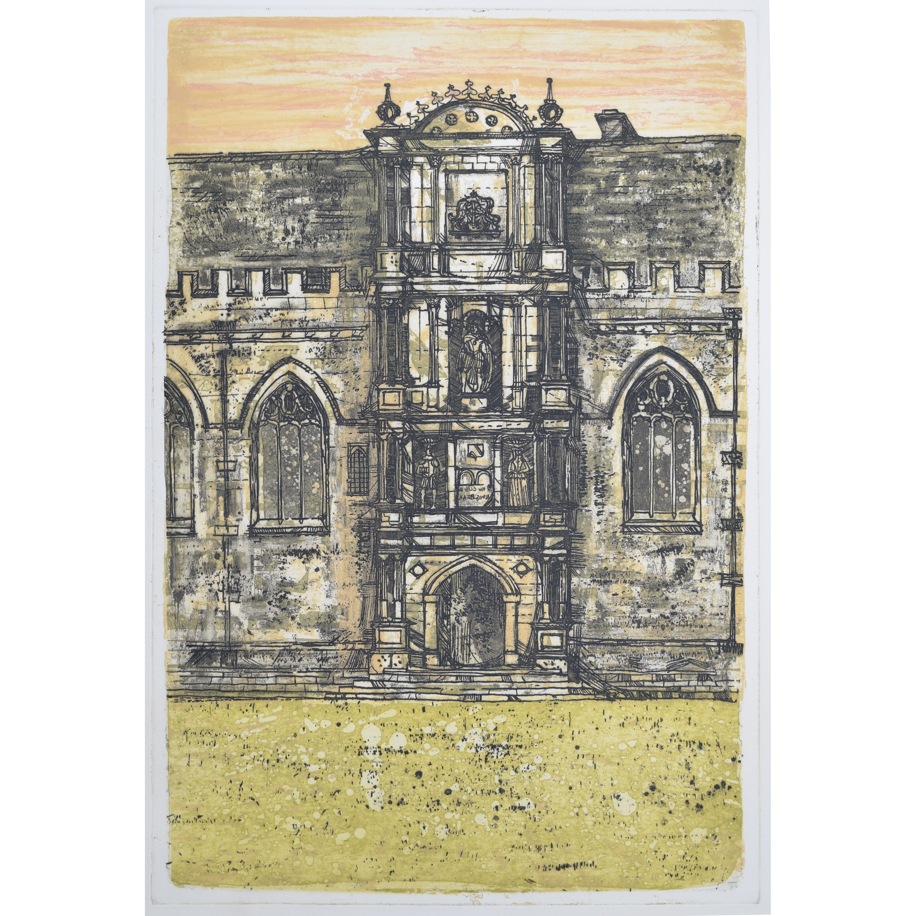 Richard Beer Wadham College, Oxford print for sale