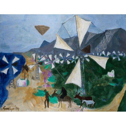 Julian Trevelyan Windmills