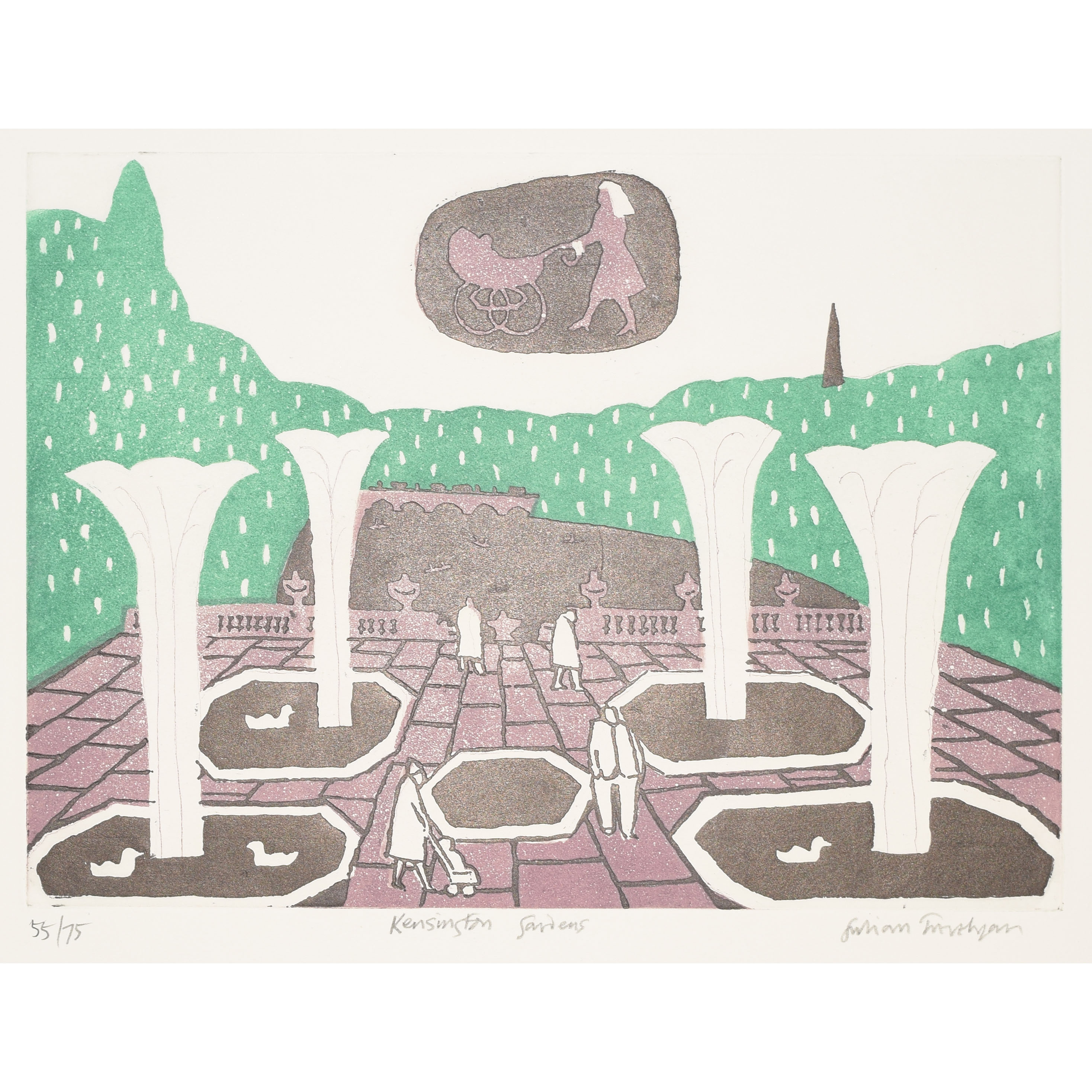 Julian Trevelyan Kensington Gardens