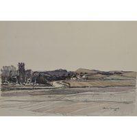 Claude Muncaster Mundesley Norfolk watercolour for sale