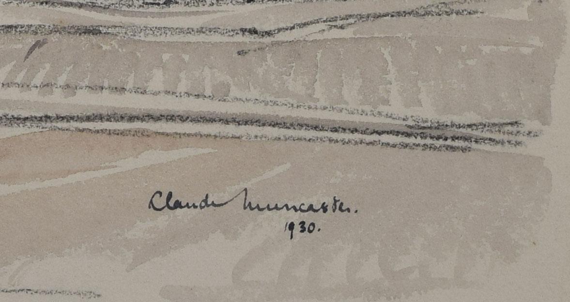Claude Muncaster signature