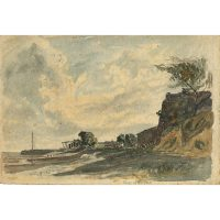 Claude Muncaster Ulverston Canal watercolour for sale