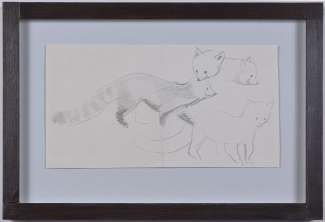 Clifford Ellis Chico Red Panda framed