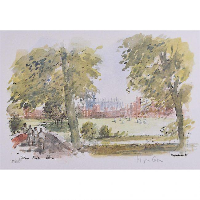 Hugh Casson Eton College Field limited edition print
