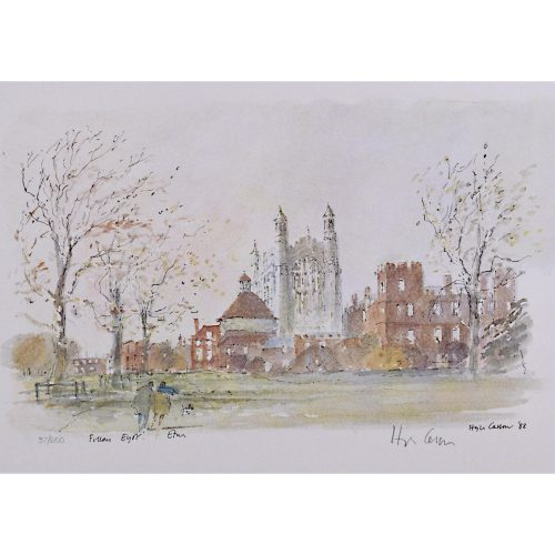 Hugh Casson Fellows Eyot Eton College limited edition print