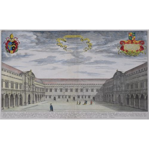 David Loggan Canterbury Quad St John's College Oxford engraving