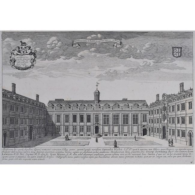 David Loggan Clare College Cambridge