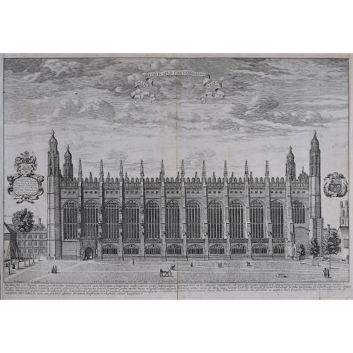 David Loggan King's College Cambridge South Front