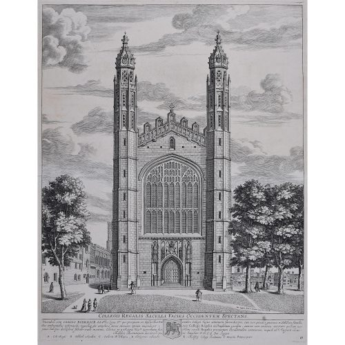 David Loggan King's College Cambridge West Front