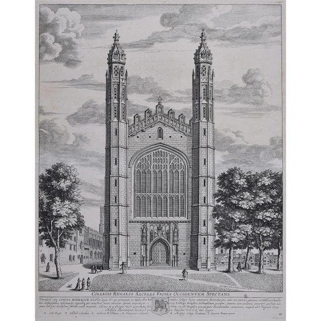David Loggan King's College Cambridge West Front