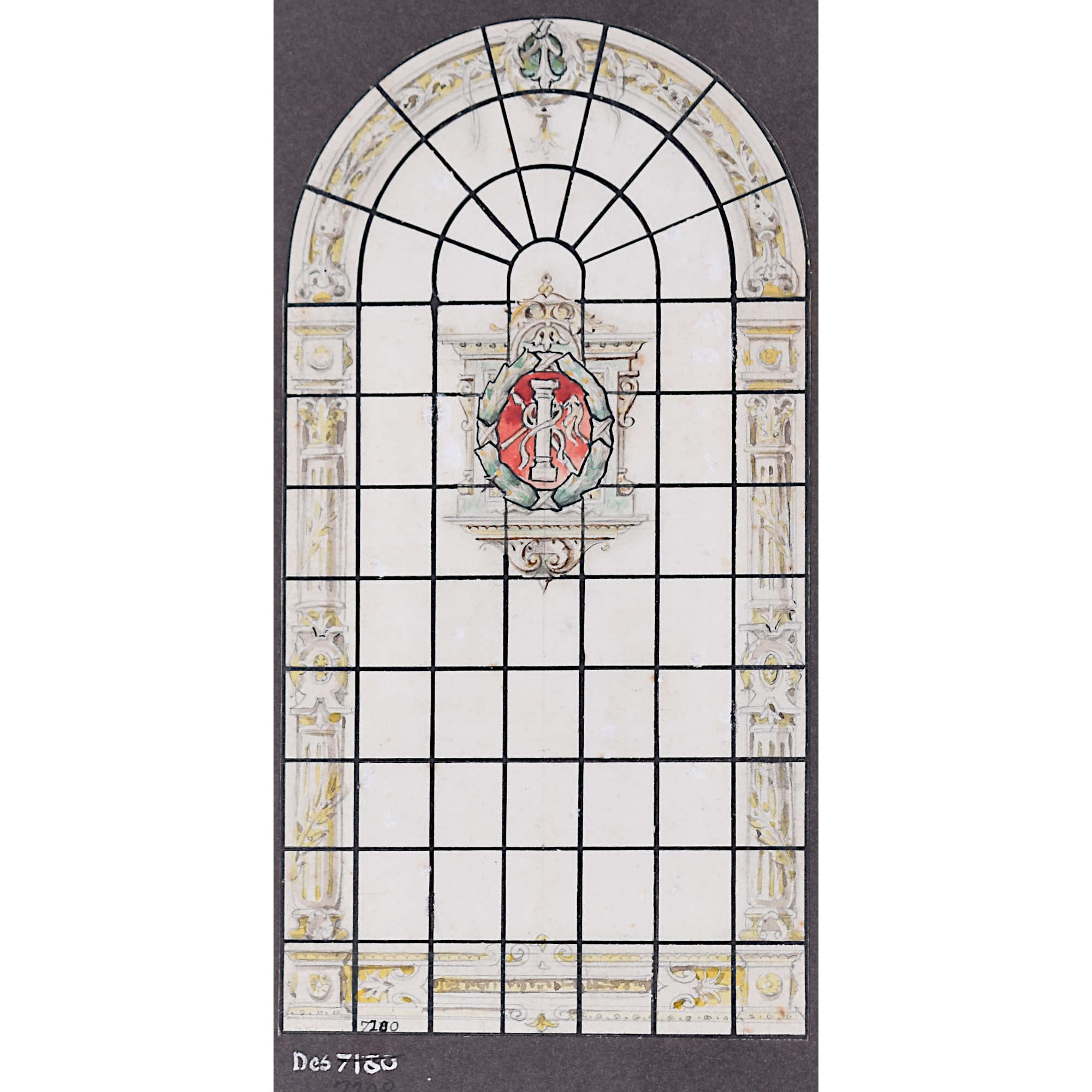 Florence Camm Stained Glass Passion Window Design