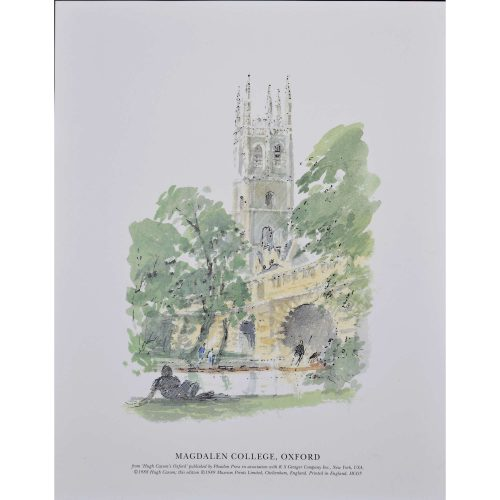 Hugh Casson Magdalen College Oxford University Print
