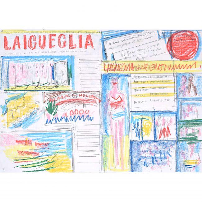 Laigueglia 4 Holiday Brochure Design 1966 Peter Collins ARCA Mid Century Modern