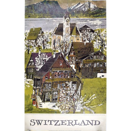 Original Poster - Hugo Wetli: Spring on Lake Lucerne