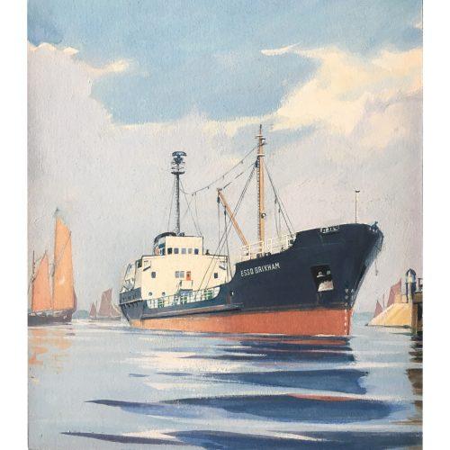 Laurence Dunn ESSO Brixham tanker