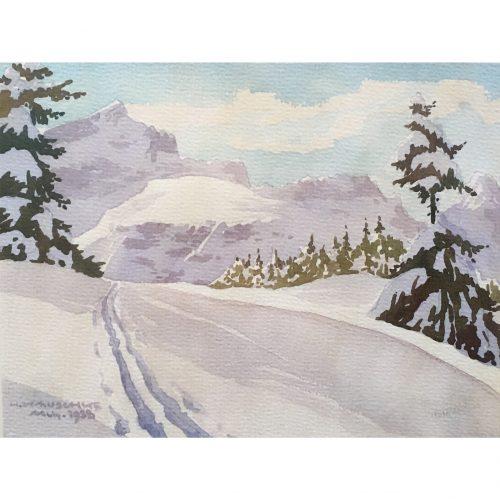 Hermann Kauschke: Alpspitze, Zugspitze u. Waxenstein