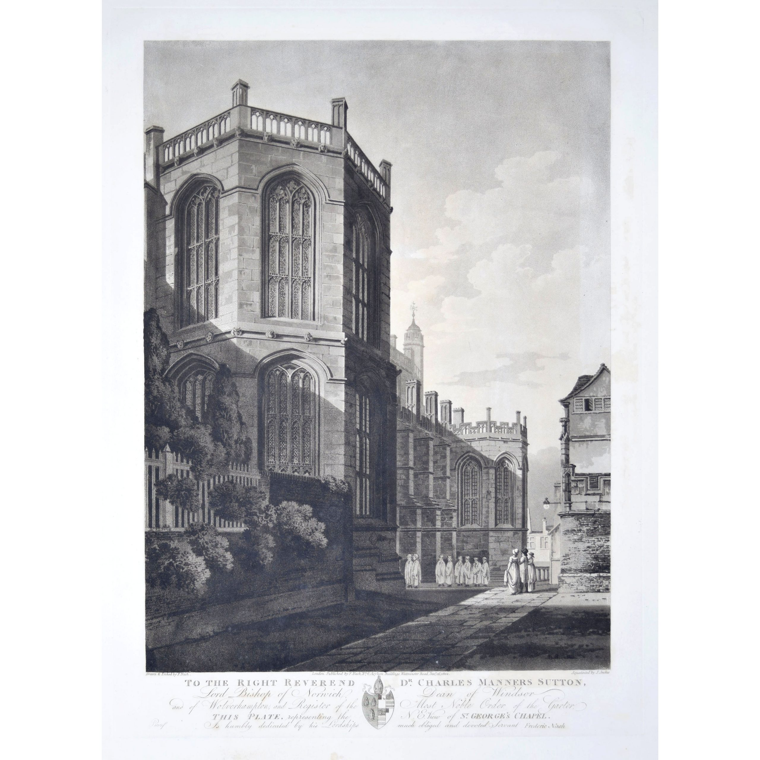 1804 St George's Chapel Windsor Castle