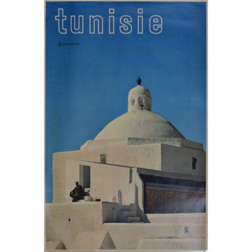 Tunisia original vintage poster