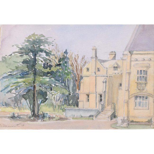 B Hamworth Mansfield College Oxford