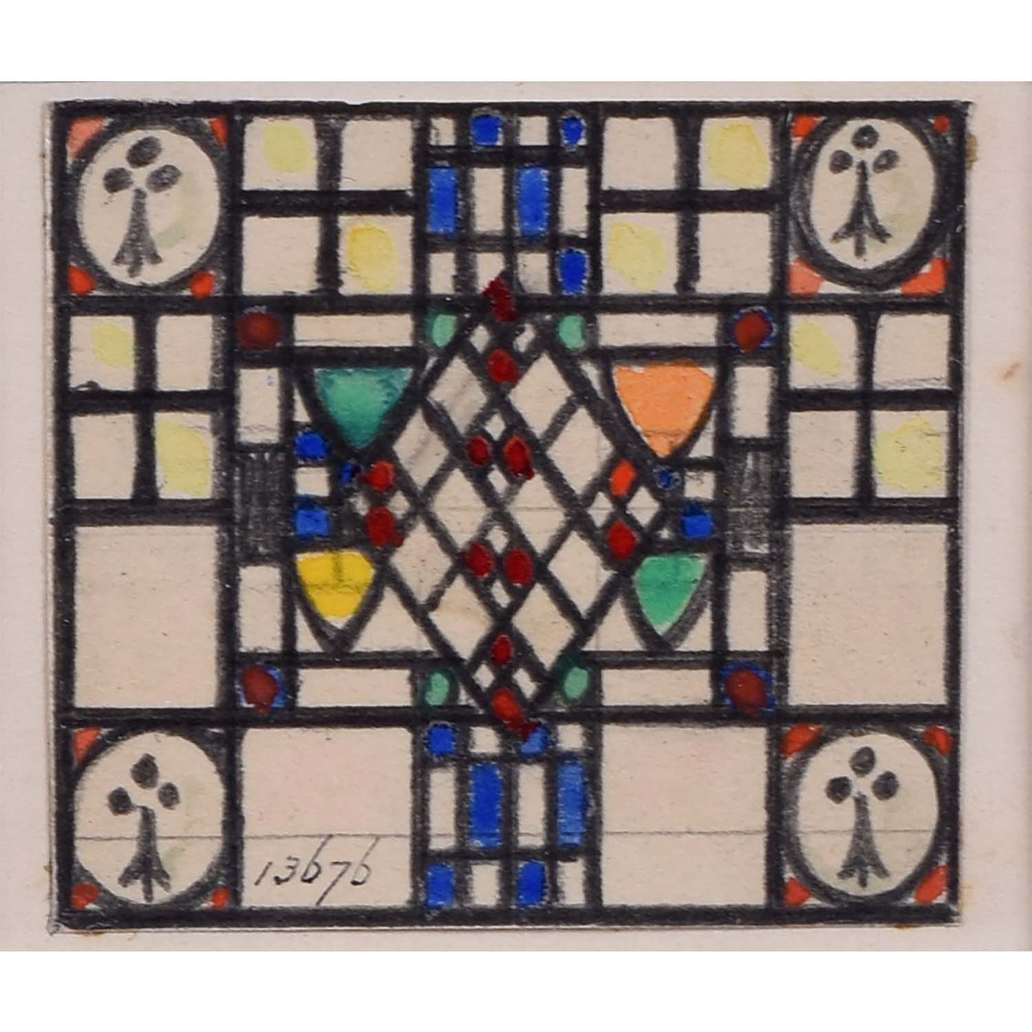 Florence Camm TW Camm Stained Glass Window Design