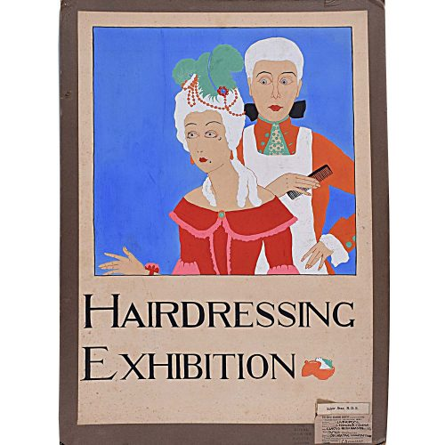 Gladys Williamson Hairdressing Exhibition 1931