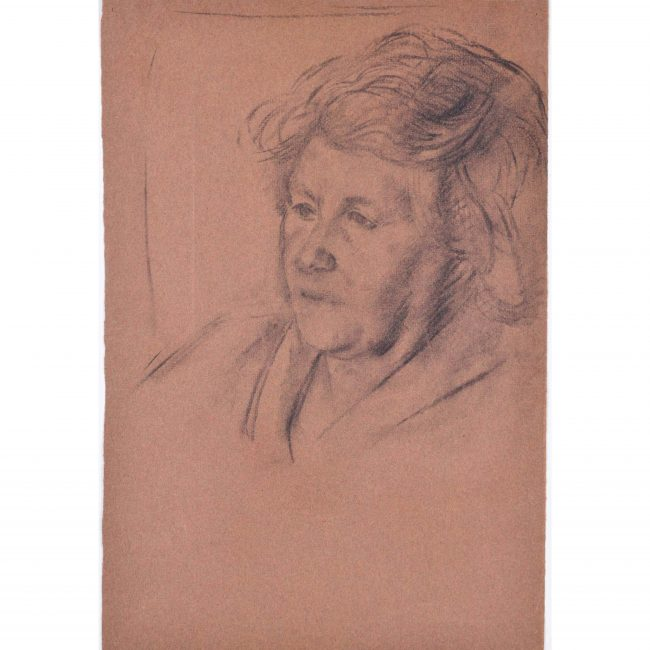 Sketch of a Woman: Hilary Hennes Miller c.1940