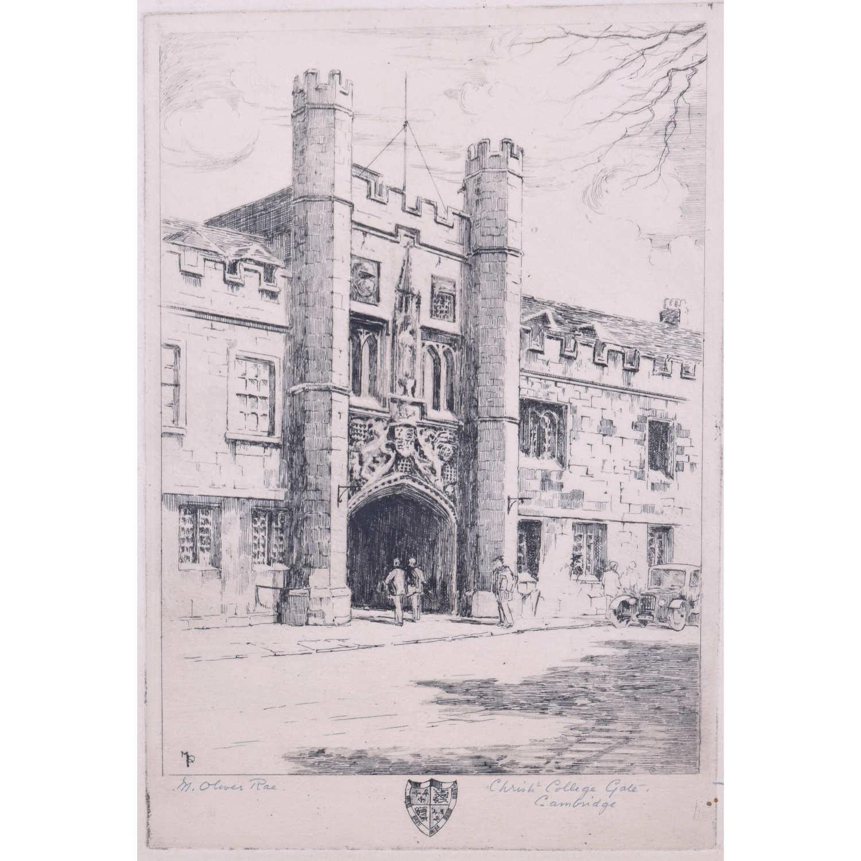 Mabel Oliver Rae Christ Church Cambridge