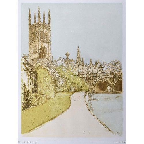 Richard Beer Magdalen Bridge Oxford