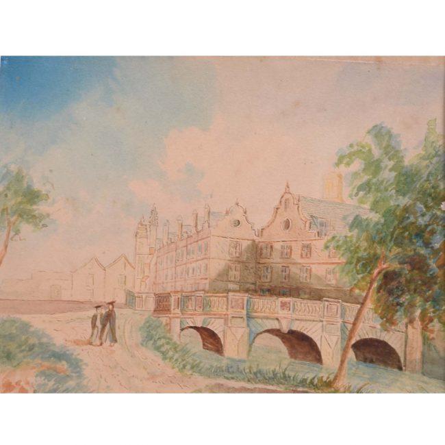 Anonymous St John's College Cambridge c.1800