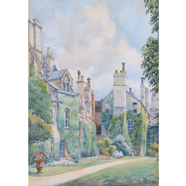 Thomas Cartwright Worcester College Gardens Oxford