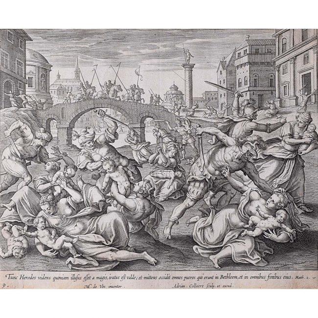 Adrian Collaert Martin de Vos Massacre of the Innocents