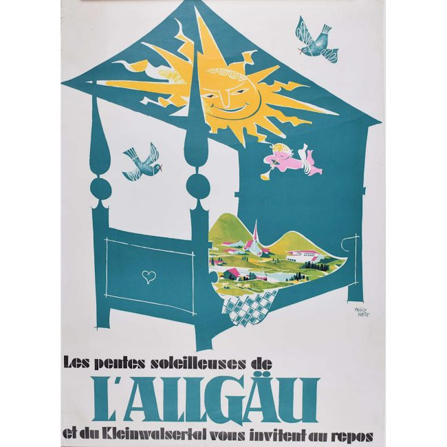 L'Allgäu Germany Poster
