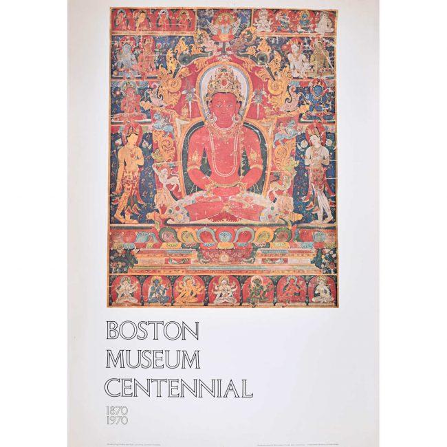 Boston Museum Centennial poster 1970