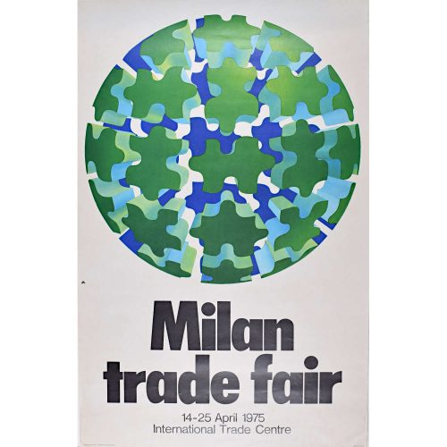 Poster for Milan Trade Fair 1975