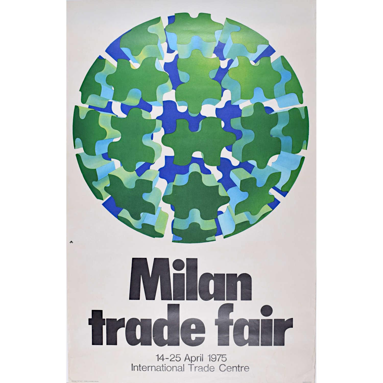 Poster for Milan Trade Fair 1975