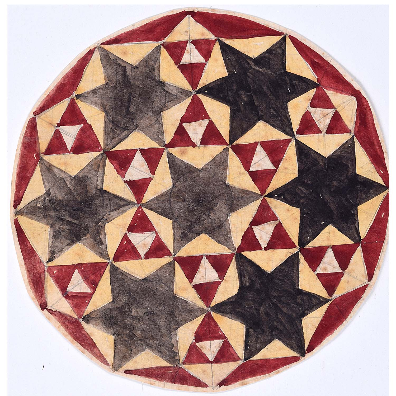 Penelope Ellis Geometric Circle