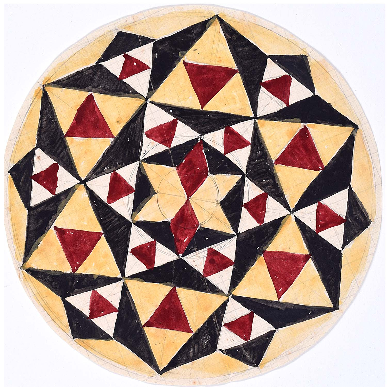 Penelope Ellis Geometric Circle II