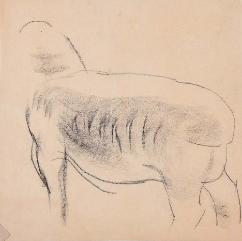 Clifford Ellis Sheep in Charcoal